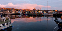 Small Boat Harbour, Lerwick at dawn
