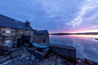 Lodberrie, Lerwick at dawn